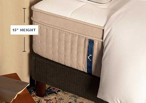 DreamCloud Mattress Height